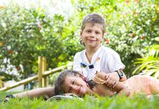 Free Summer Kids Royalty Free Stock Photo - 8516035