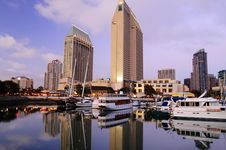 Free San Diego Downtown Marina Stock Images - 8516204