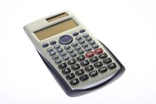 Free Scientific Calculator Isolated On A White Stock Image - 8516511