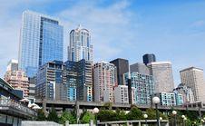 Seattle Downtown Stock Photos