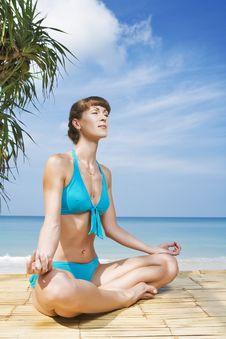 Free Practicing Yoga Stock Photos - 8516643