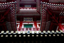 Free Singpore: Buddha Tooth Relic Temple Royalty Free Stock Photos - 8517118