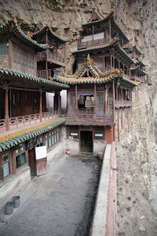 Free The Hanging Temple Building Royalty Free Stock Image - 8517456