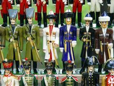 Free Soldiers Toys Royalty Free Stock Image - 8517766