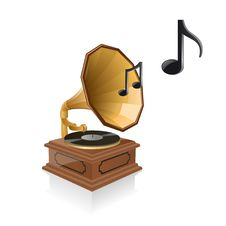 Free Gramophone Royalty Free Stock Photography - 8518217