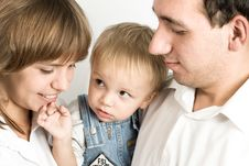 Free Family Portrait Royalty Free Stock Photography - 8519087