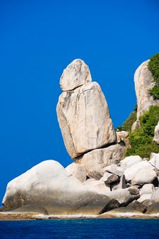 Free Unusual Rock Formations Along The Coast Stock Photo - 8519330