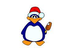Free Comic Penguin Stock Photos - 8519473