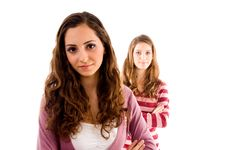 Free Young Friends Looking At Camera Stock Images - 8519934