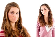 Free Portrait Of Young Sisters Royalty Free Stock Photography - 8519937