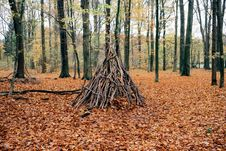 Free Teepee Shelter Royalty Free Stock Image - 85122876