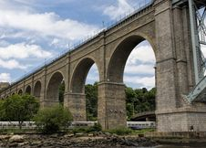 Free High Bridge In New York City Stock Image - 85129611