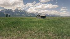 Free Barn On Mountain Field Stock Photo - 85132180