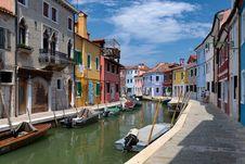 Free Canali Di Venezia, Burano, Italy Stock Photos - 85133553