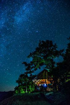 Free Starry Skies Stock Image - 85134641