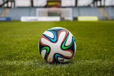 Free Football On Field Royalty Free Stock Photos - 85135398