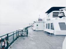 Free Deck Of Ferryboat Stock Image - 85152191