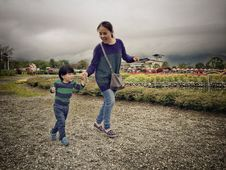 Free Mommy And Son Stock Photography - 85154932