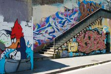Free Graffiti Street Art Stock Image - 85158451