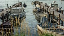 Free Cluster Of Grey Motorboat On Brown Wooden Dock Royalty Free Stock Photo - 85158655