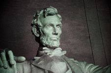Free Statue Of Abraham Lincoln Royalty Free Stock Photo - 85159525