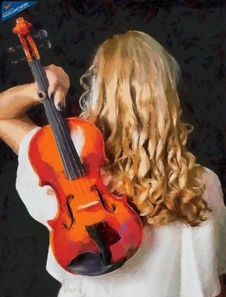 Free Violin Woman - ID: 16218-130700-3238 Stock Photo - 85160930