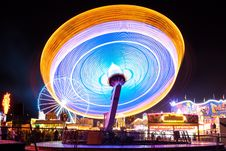 Free Long Exposure Of Carousel Stock Photos - 85162213