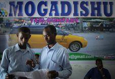 Free 2013_09_01_Mogadishu_Taxi_Company_007 Stock Photo - 85164170