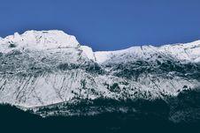 Free Snowy Mountains Royalty Free Stock Photos - 85178808