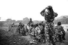 Free Military Training Stock Photo - 85183090