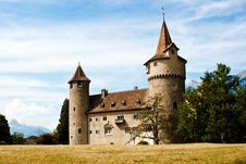 Free Brown Stone Castle Under Blue Sky Stock Images - 85191414