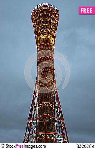 Kobe Port Tower Stock Photo