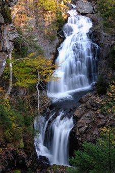 Free Crystle Cascades Waterfall Stock Image - 8520051