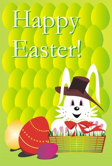 Free Happy Easter Card Stock Photos - 8520843