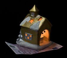 Free The Small House On Euro Stock Photos - 8521263