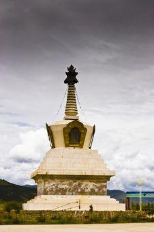 Free Stupa Royalty Free Stock Photos - 8521268