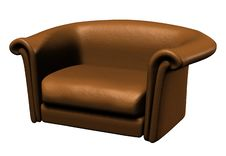 Free 3D Chair Royalty Free Stock Photography - 8521287