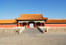 Free The Forbidden City Royalty Free Stock Photo - 8522915