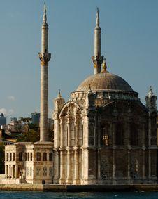 Free Ortakoy Mosque Stock Photography - 8523342