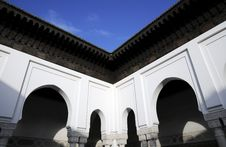 Free Arch Architecture In Mosque Temple Stock Image - 8523401