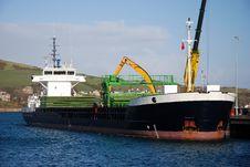 Free Cargo Ship. Royalty Free Stock Photo - 8523485