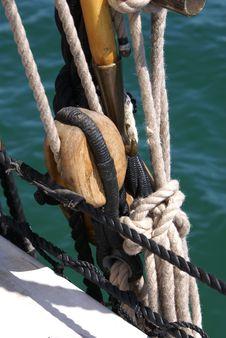 Free Sail Rigging 3 Stock Photo - 8523980