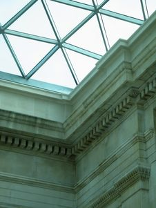 Free Glass Roof Royalty Free Stock Image - 8524056