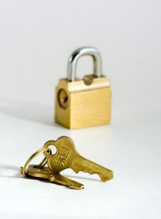 Free Key And Lock Stock Photos - 8524083