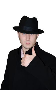 The Gentleman In A Hat Stock Images