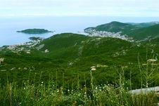 Free Bird-eye View On Coastline Royalty Free Stock Photo - 8524415
