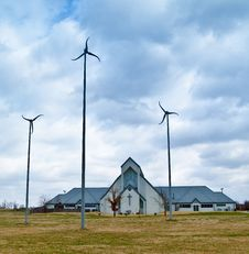 Free Wind Turbines Royalty Free Stock Images - 8524689