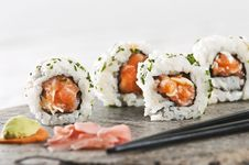 Free Sushi Royalty Free Stock Image - 8524856