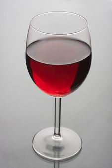 Free Glass Of Red Wine Stock Photos - 8525163