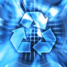 Free Recycling Symbol Royalty Free Stock Images - 8525499